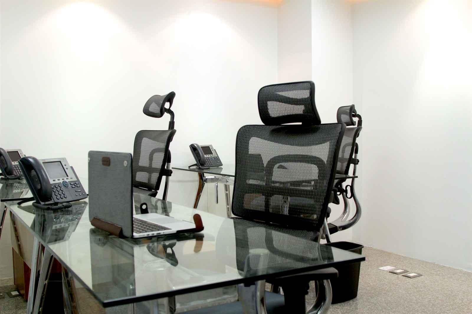 Oficinas privadas para su negocio