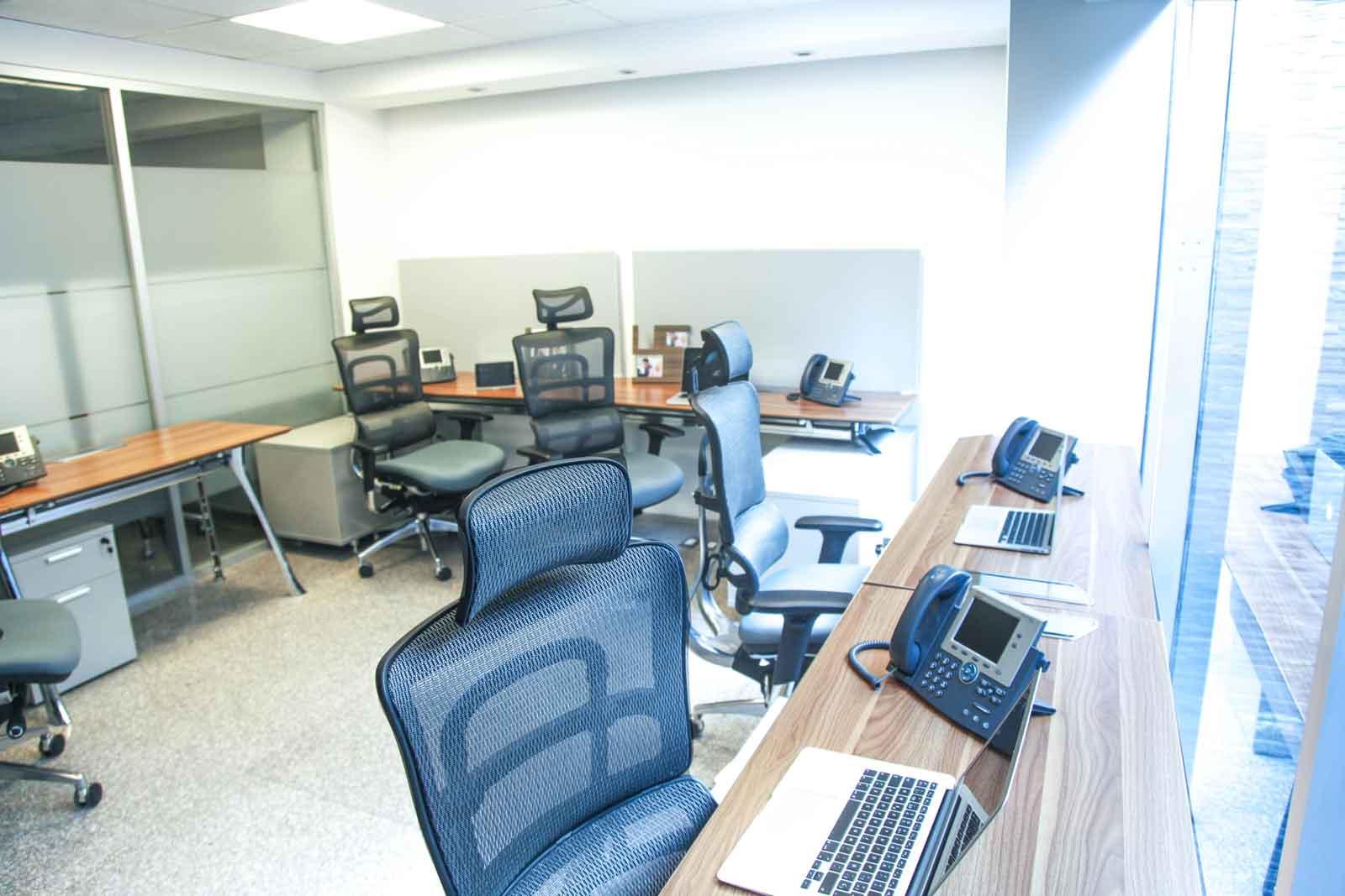 Oficinas privadas para su negocio con estilo moderno